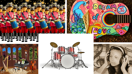 Assorted online music picture puzzles for all difficulty levels, from children to adults. Age 8+. Sign up for FREE trial!