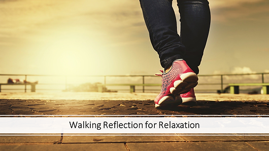 Guided walking gratitude exercise to music for relaxation. Age 13+. Sign up for FREE trial!