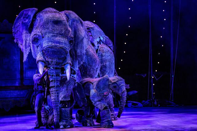 Circus 1903 at the Southbank Centre Christmas 2021