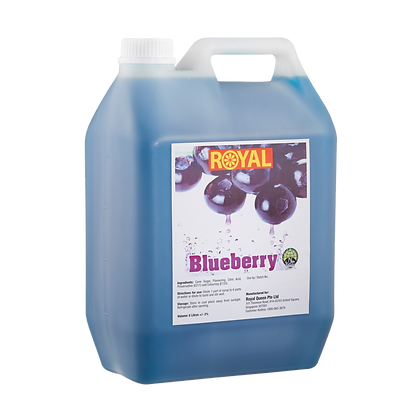 JJ Drinks Royal Blueberry Syrup