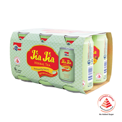 Jia Jia Herbal Tea No Sugar Added 6 pack
