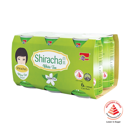 Shiracha White Tea Jasmine 6 pack