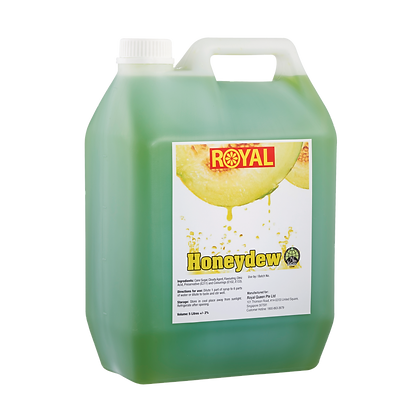 JJ Drinks Royal Honeydew Syrup