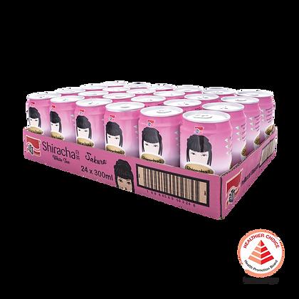 Shiracha White Tea Sakura 1 carton