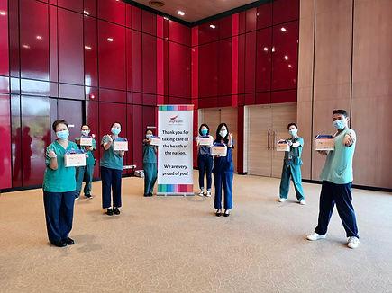 Jiajia Herbal Tea for Healthcare Frontliners