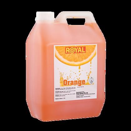 JJ Drinks Royal Orange Syrup
