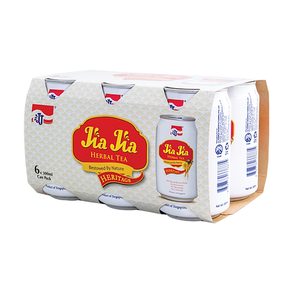 Jia Jia Herbal Tea Heritage 6 pack