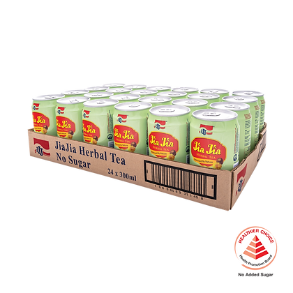 Jia Jia Herbal Tea No Sugar Added 1 carton