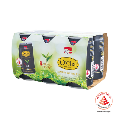 O'Cha Premium Jasmine Green Tea 6 pack