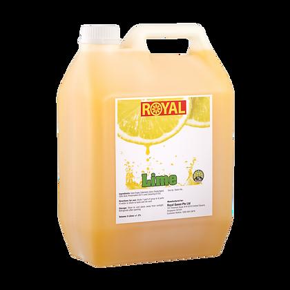 JJ Drinks Royal Lime Syrup