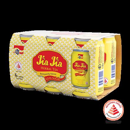 Jia Jia Herbal Tea Less Sugar 6 pack