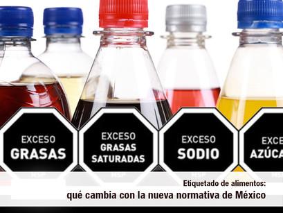 Nuevo etiquetado en alimentos y bebidas.