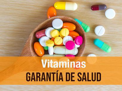 Vitaminas, garantía de salud