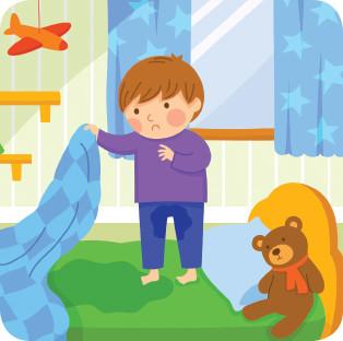 Enuresis. ¿Tu hijo moja la cama durante las noches?
