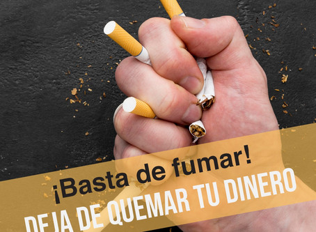 Dejar de fumar. La adicción al tabaco también es física
