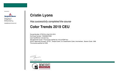 Benjamin Moore 2019 Color Trends CEU.JPG