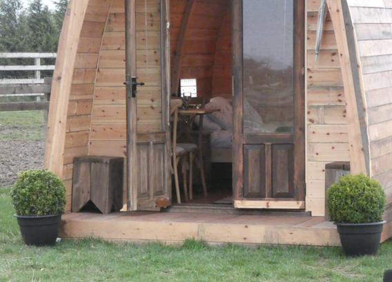 Pod front door