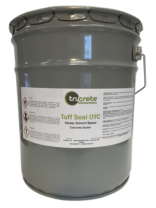 Tuff Seal™ VOC compliant Solvent Based Acrylic Sealer