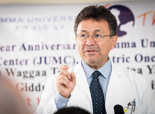 Dr. Miguel Bonilla's Journey to Jimma