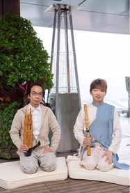 2019 3月 與著名笙演奏家及作曲人伍卓賢一起於香港半島酒店作公開演出。