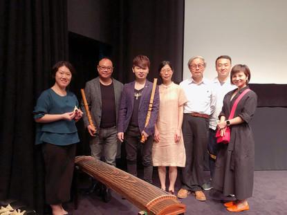 2019 4月及5月 受香港國際電影節協會邀請,於香港藝術中心為上世紀三十年代的日本默片「伊豆舞孃」作現場音樂配樂。