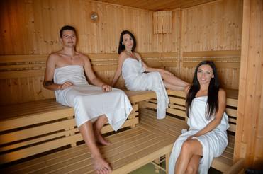 Centrum zdraví Pivovar Chrudim - finská sauna