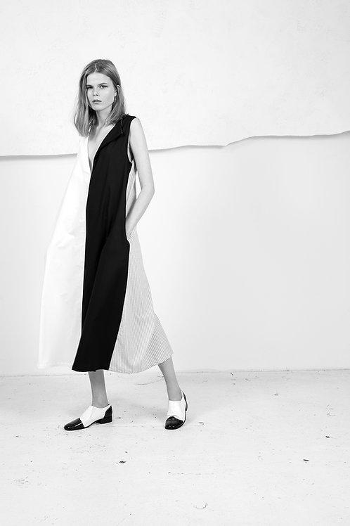Black and White reversible Dress