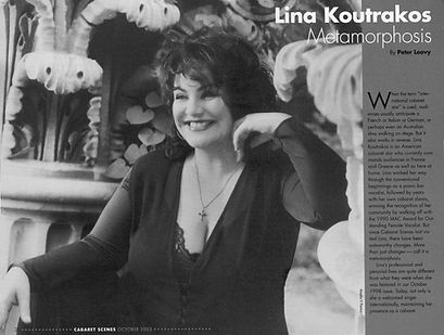 CABARET SCENES 2003 LINA KOUTRAKOS