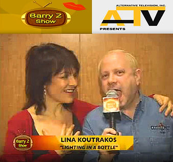 LINA KOUTRAKOS , THE BARRY Z SHOW 2006