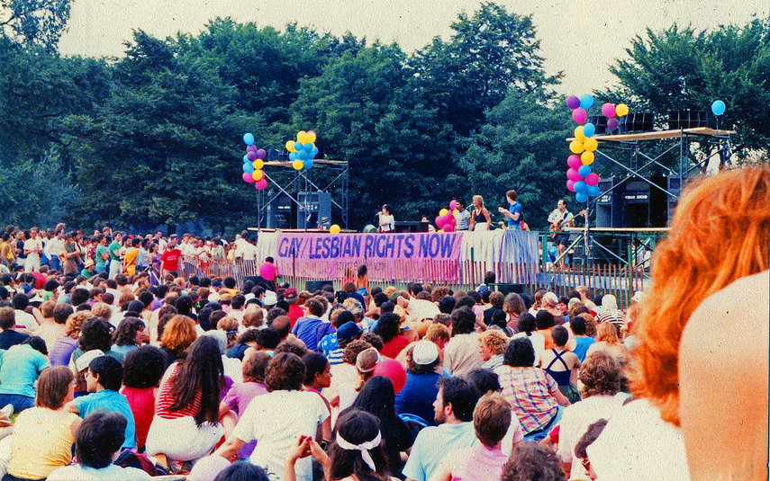 LINA KOUTRAKOS BAND at Central Park 1982