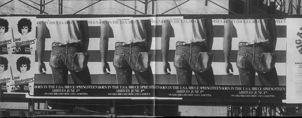 Ed Caraeff 1984 Putnam Pub Group LINA KOUTRAKOS / BRUCE SPRINGSTEEN