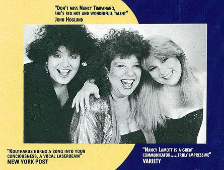 lina koutrakos , nancy lamott , nancy timpanaro , 1990