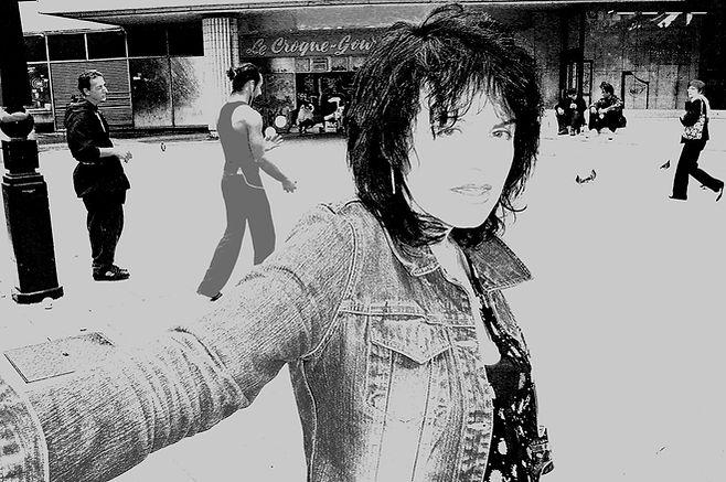 LINA KOUTRAKOS in Paris 2008