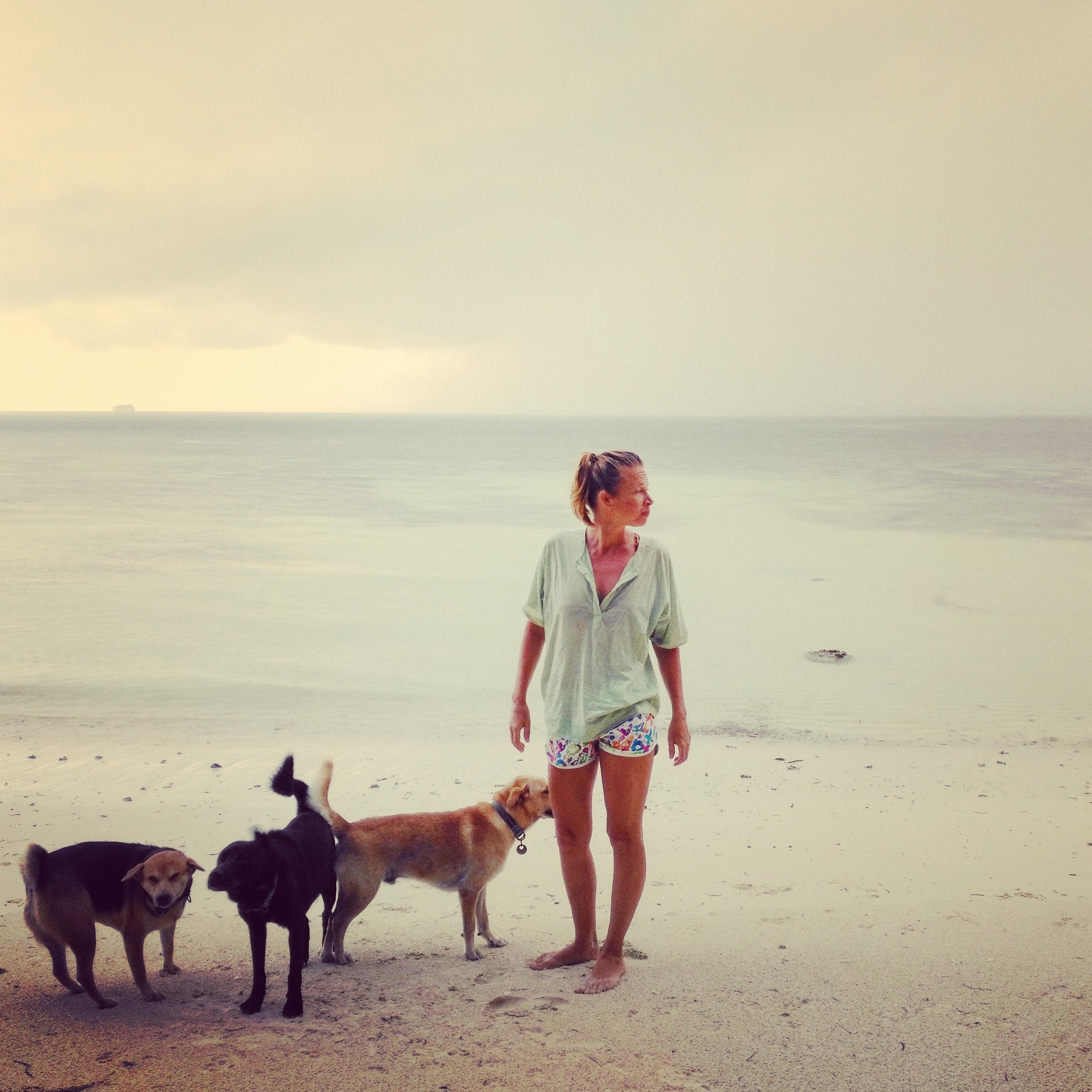 Kaisa Kasemets and dogs