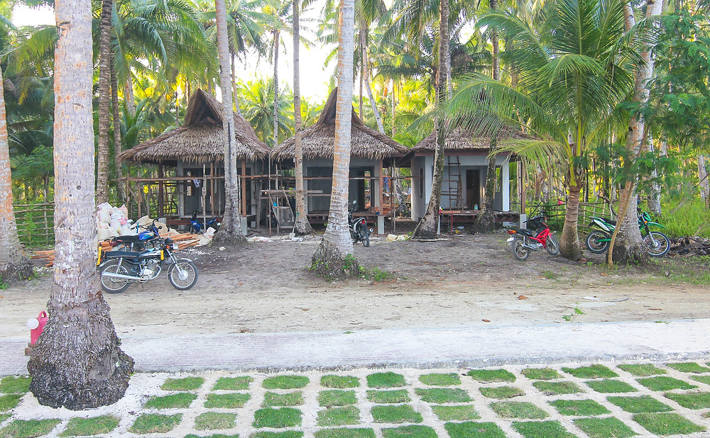 Surfing Carabao Beach houses