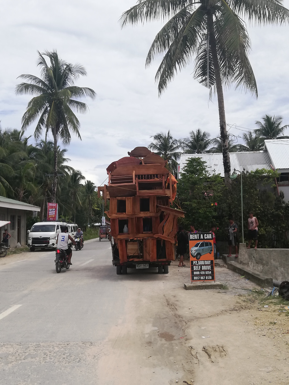 Turvallista tavarankuljetusta filippiiniläisittäin.