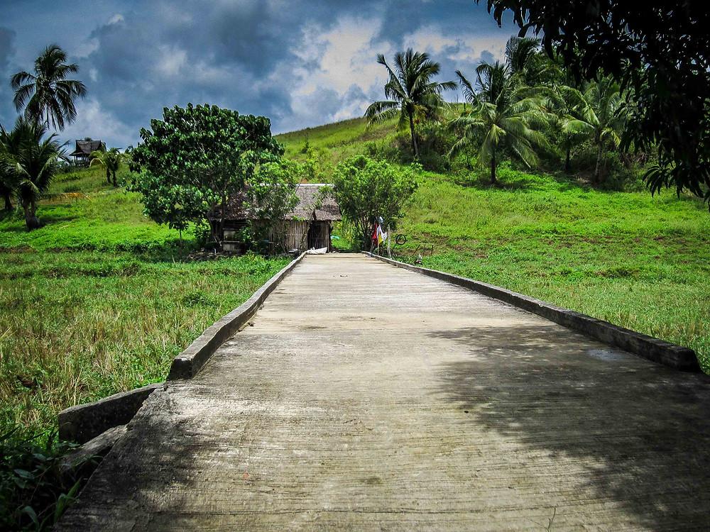 Road to Dapa