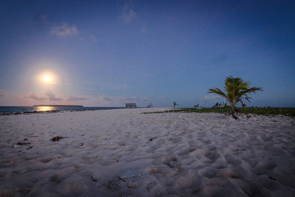 Supermoon at Siargao