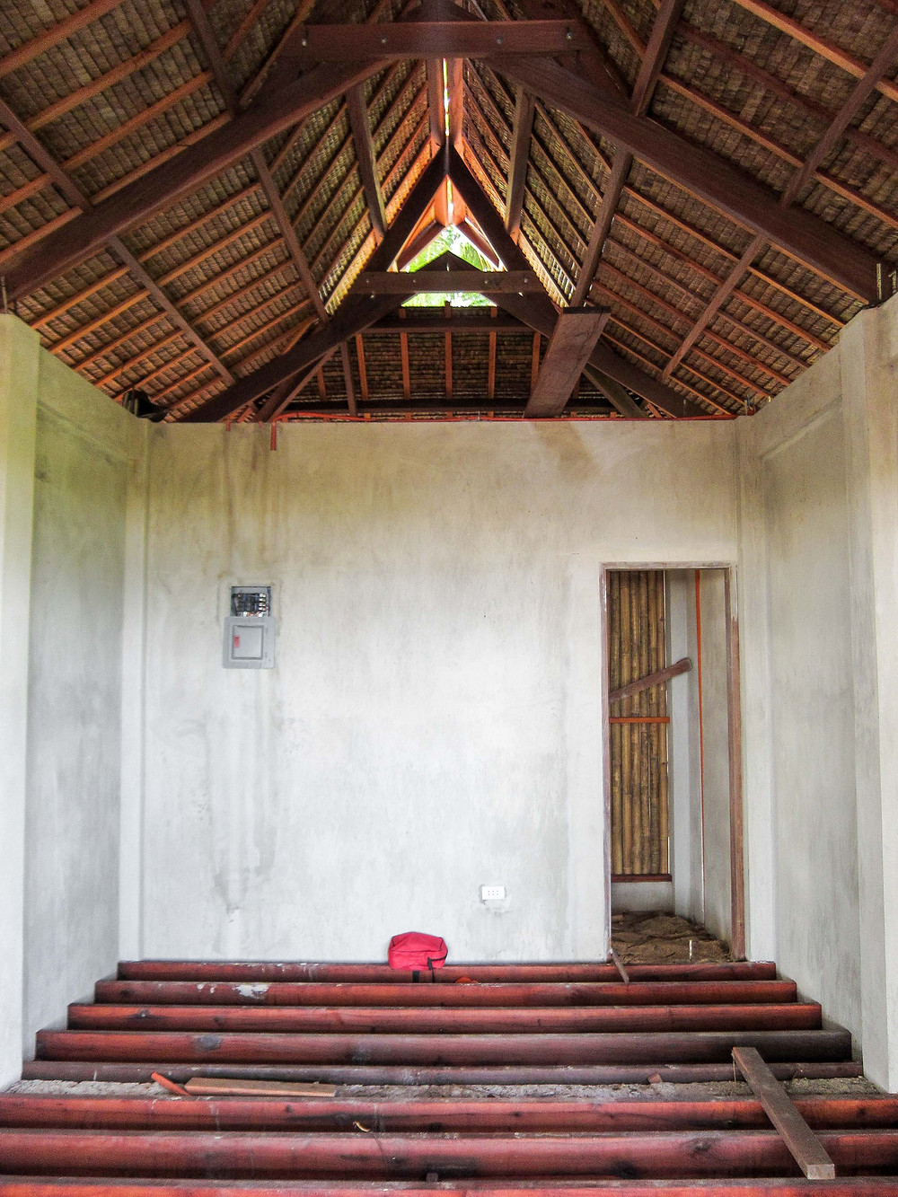 Roof of surfing carabao