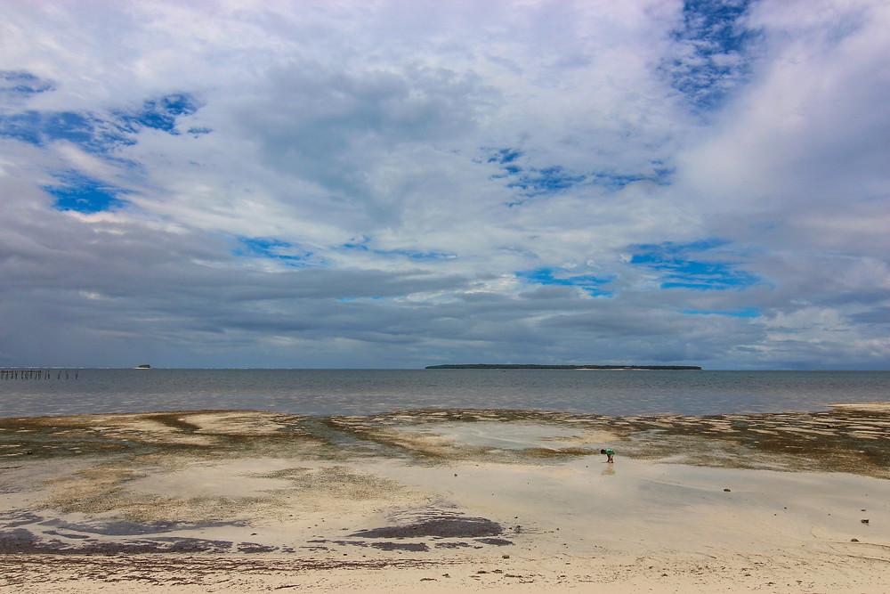 Beach of Surfing Carabao