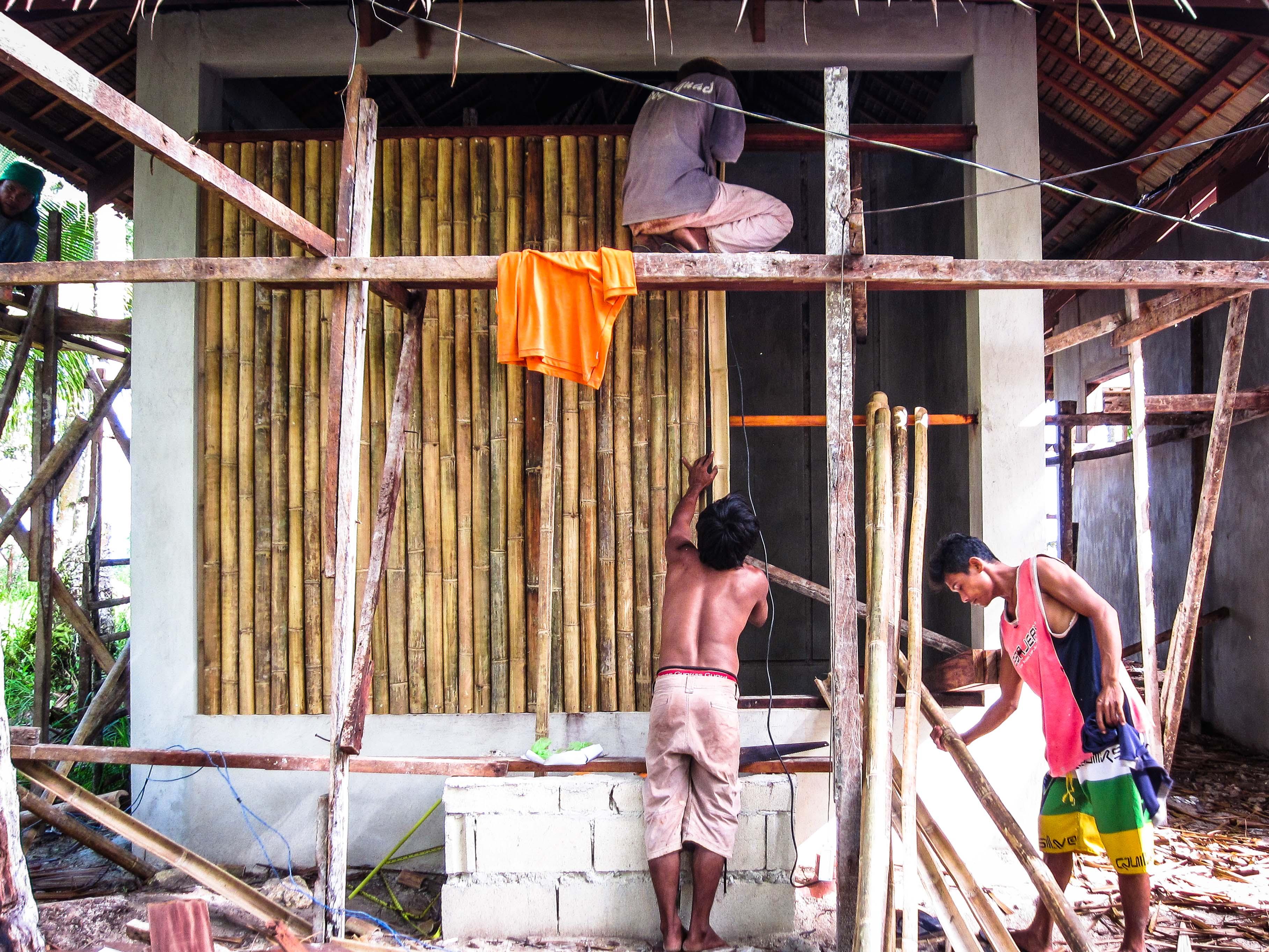 Bambu wall