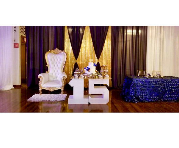 Sweet 15 Front Decor
