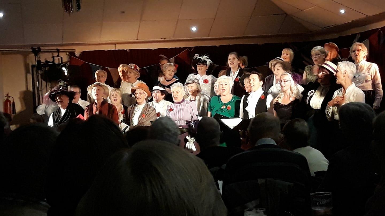 Felixstowe Harmonies at the Music Hall