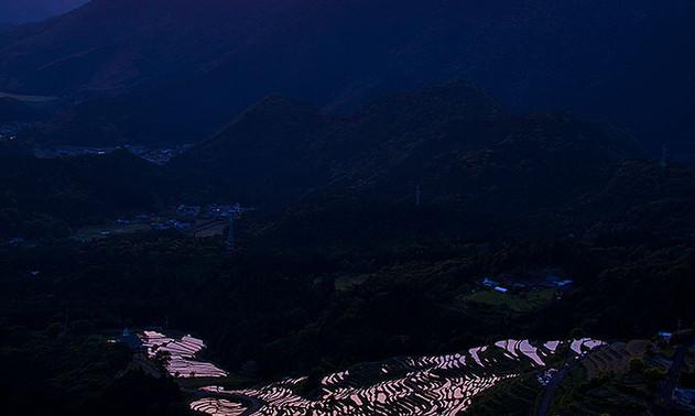 展望台から見る丸山千枚田