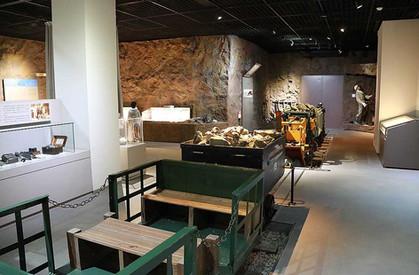 熊野市紀和鉱山資料館 展示