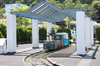 熊野市紀和鉱山資料館 トロッコ