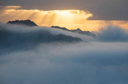 ツエノ峰から見る雲海