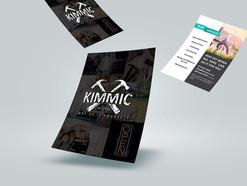 KIMMIC Y-DIY A5 Flyer Design