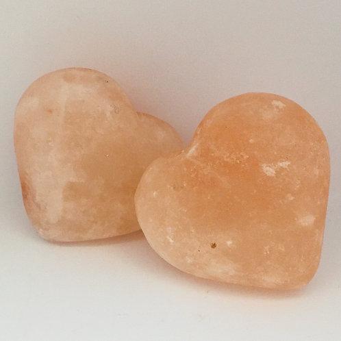 cuoricino di sale dell'Himalaya