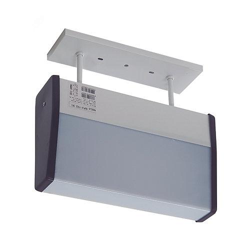 Dupla Face Centralizada 9W / 24V - Fluorescente Compacta